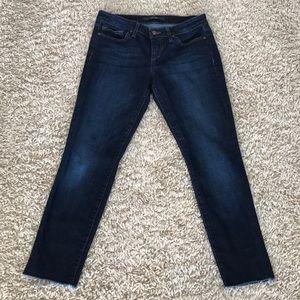 Joe's Jeans skinny raw hem 28x27